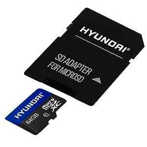 Hyundai, Micro SDHC, sd, adaptador, 64 gb, 32 gb