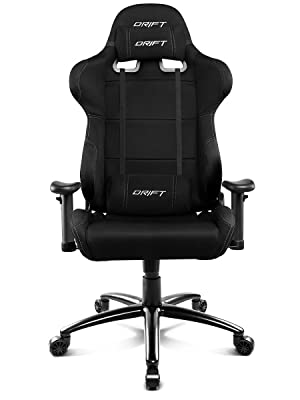 Drift DR100 - DR100B - Silla Gaming, Color Negro
