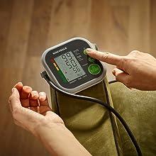SOEHNLE Systo Monitor 200 - Tensiometro de brazo, ritmo cardiaco, presion arterial, color blanco y gris: Amazon.es: Salud y cuidado personal