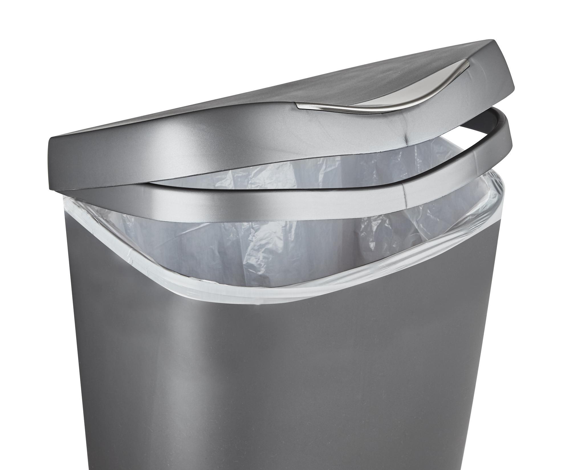 Amazon Com Umbra 084200 047 Brim Large Kitchen Trash Can