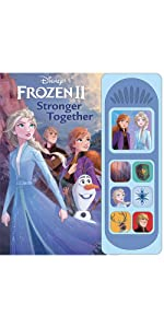 Frozen 2 Little Sound Book