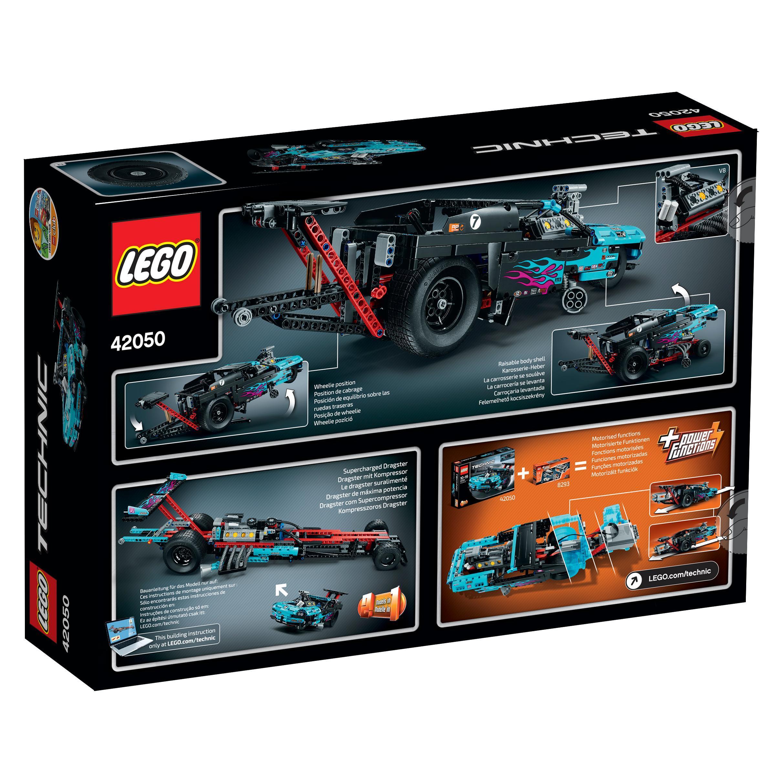 lego 42050 technic jeu de construction le v hicule dragster jeux et jouets. Black Bedroom Furniture Sets. Home Design Ideas
