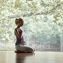 Grounded. It's a term used often by yoga teachers and meditation teachers