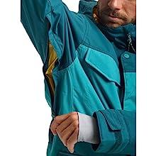 winter jacket covert mens pocket zipper warm