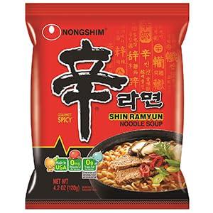 Shin Noodle Soup Bag