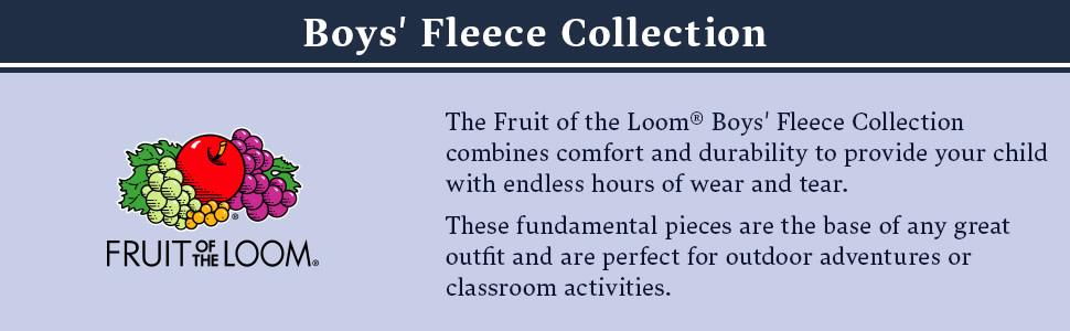 Boys Fleece Collection