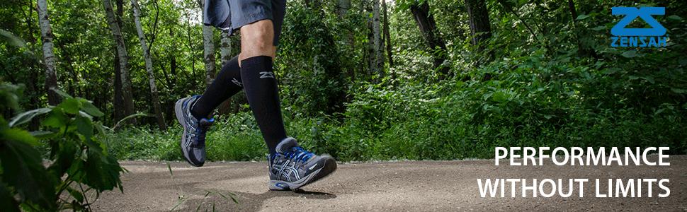 tech socks, compression socks, zensah compression socks, running socks