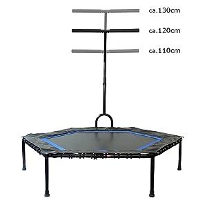 FA Sports - Pequeña cama elástica plegable FlyJump para interiores ...