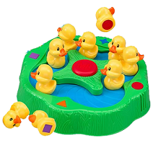 lucky, ducks, game