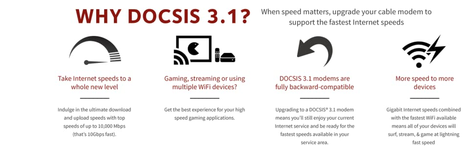 why docsis 3.1 banner