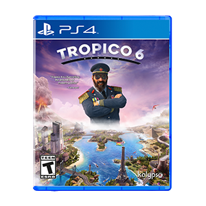 Tropico 6 - PlayStation 4 Packshot