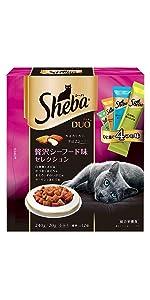 デュオ 成猫用 贅沢シーフード味