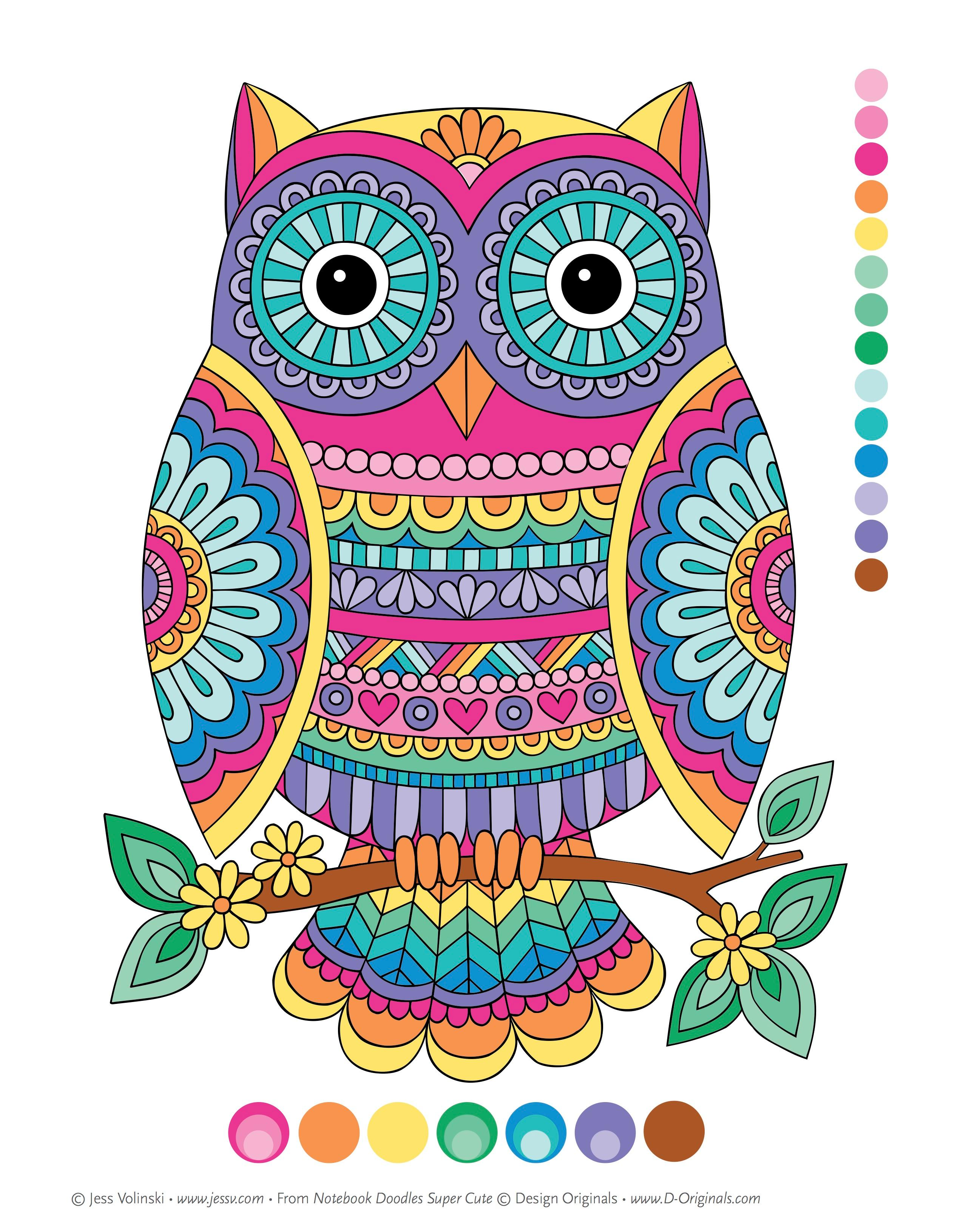 Amazon.com: Notebook Doodles Super Cute: Coloring & Activity Book ...