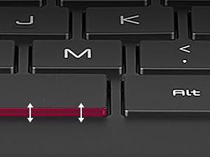 enhanced key pitch stroke