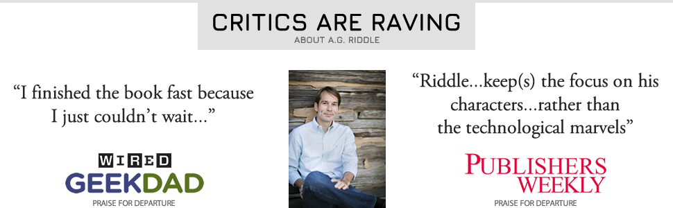 reviews, A.G. Riddle, wired, best books of the year