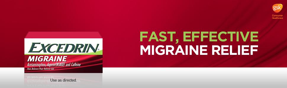 Migraine relief, Excedrin, Headache medicine, Headache relief