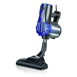 MPM-MOD-34 Aspirador de Escoba, Filtro HEPA, Ciclónico, Potente, sin Bolsa, Compacto, con Soporte de Pared, 600 W: Amazon.es: Hogar