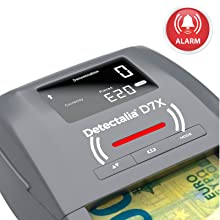 Detectalia D7X Detector de billetes falsos listo para los
