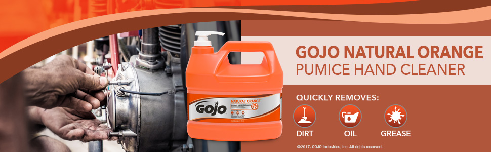 1 Gallon Natural Orange Pumice