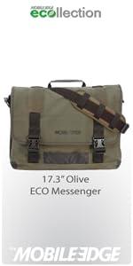 Mobile Edge Chromebook ECO Messenger (Ash) · Mobile Edge 17.3