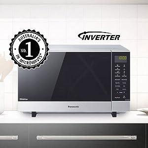 NN-SF574SQPQ, microwave, combination, inverter technology