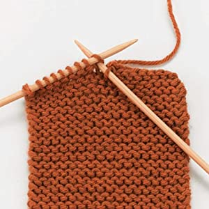 Knitting is a versatile, easily transportable crafttools materials simple yarn knitting needles
