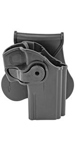 Paddle Swivel Holster For Taurus 24/7 OSS Pistol