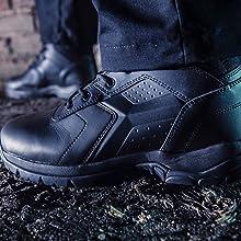 BOPS8002 tactical boots comp toe black boots police boots EMT boots