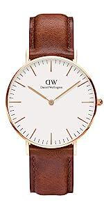 dw, daniel wellington, st mawes, classic, leather watch, classy watch, minimal watch