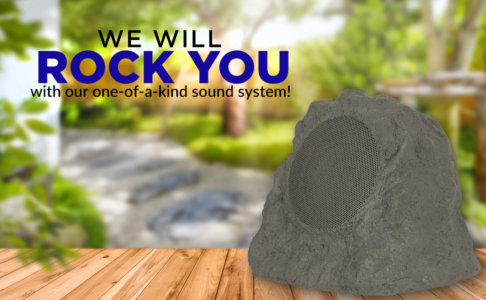 WE WILL ROCK YOU WITH OUR ONE-OF-A-KIND SOUND SYSTEM!
