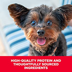 High-quality protein and thoughtfully sourced ingredients Made with purposeful elements