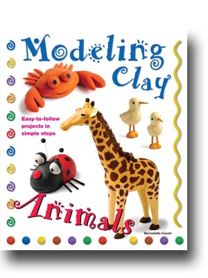 Modeling Clay Animals, clay, animals, creative, crafts, clay crafts