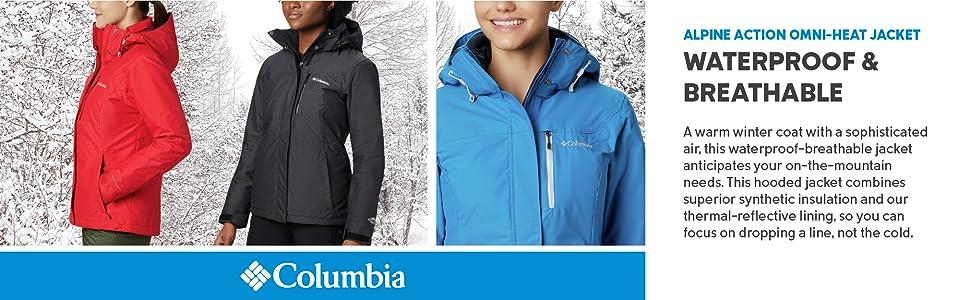 Columbia Women's Alpine Action OH Omni-Heat Jacket