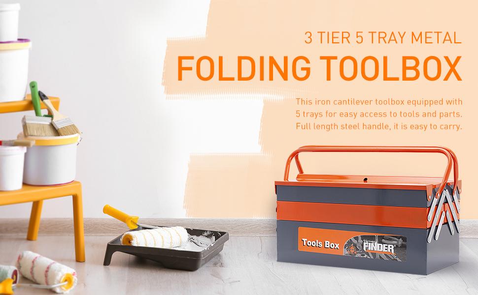 Caja de almacenamiento de herramientas