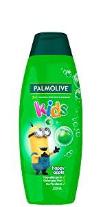 Palmolive Kids 3 in 1 Shampoo, Conditioner & Body Wash Minions Happy Apple 350ml
