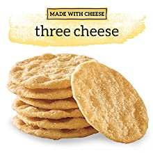Good Thins Made With Cheese Three Cheese