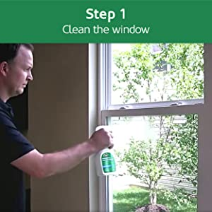 Clean the window