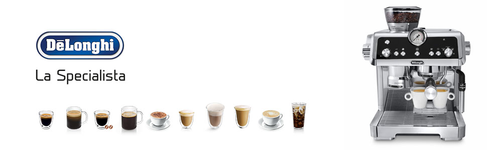 la specialista; delonghi; pump coffee machine; ECP9335M