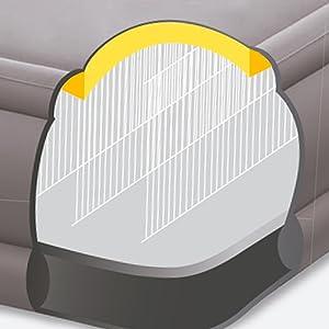 colchón hinchable, Intex, cama hinchable, hinchable Fiber-Tech, colchón y flocado