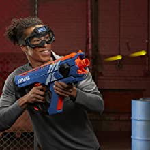 nerf rival gun; perses mxix-5000; rechargeable battery; toy; gun; blaster; rounds; bullets; ammo