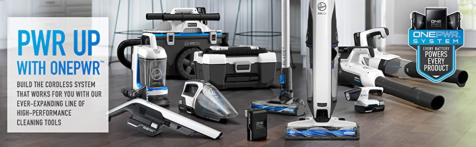 hoover cordless vacuum cleaner hard floor spot carpet hand vac battery onepwr cleaning stick home