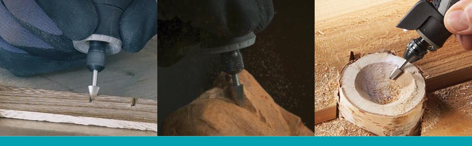 dljztrade Professional Quick Change Hex Shank Screw #6#8#10#12 HSS Countersink Drill Bit Set 4 Pcs