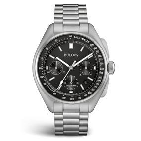 Amazon.com  Bulova Men s Lunar Pilot Chronograph Watch 96B258  Watches e6e82d1a33a