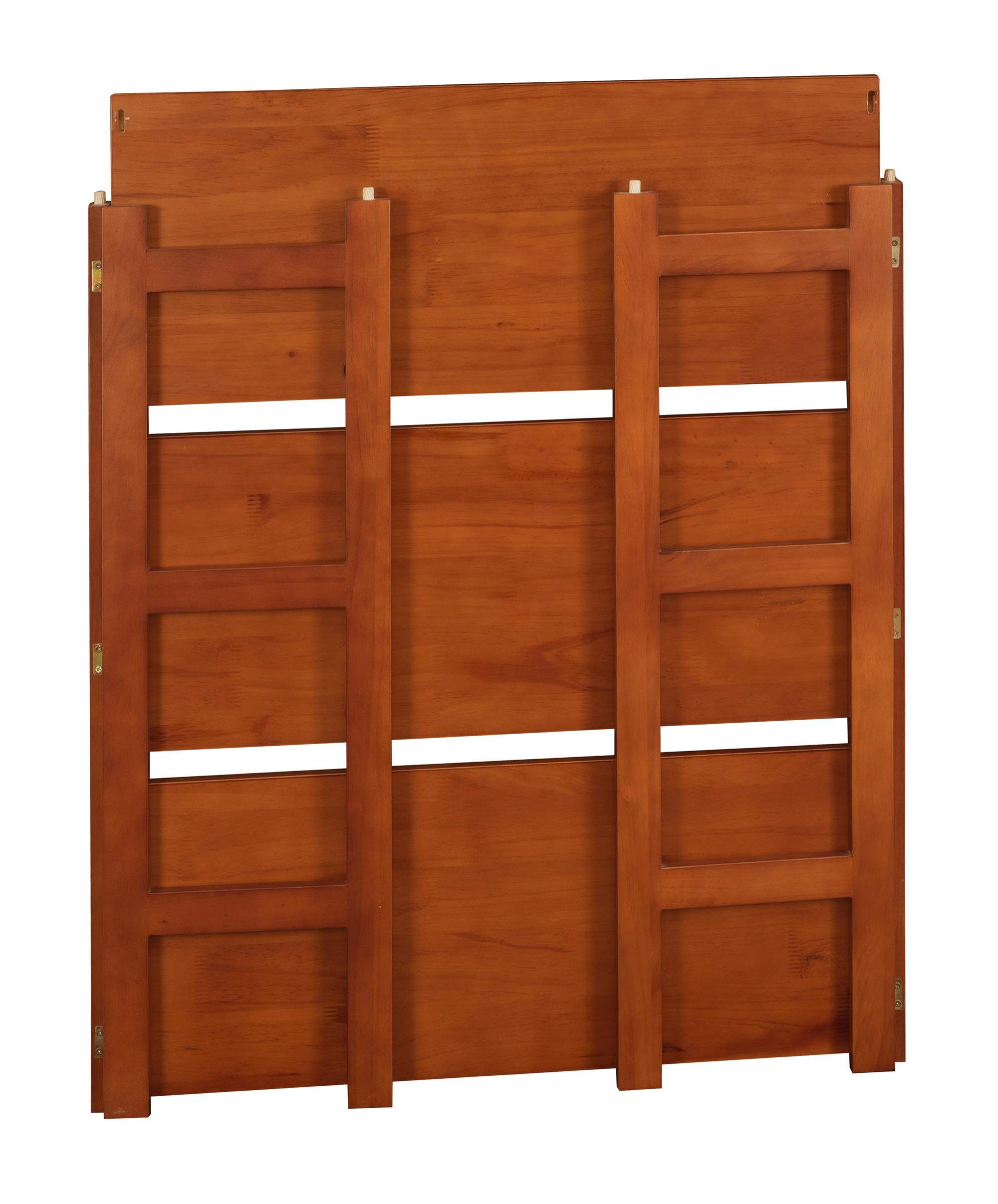 Regency flip flop 34 high folding bookcase Folding bookshelf