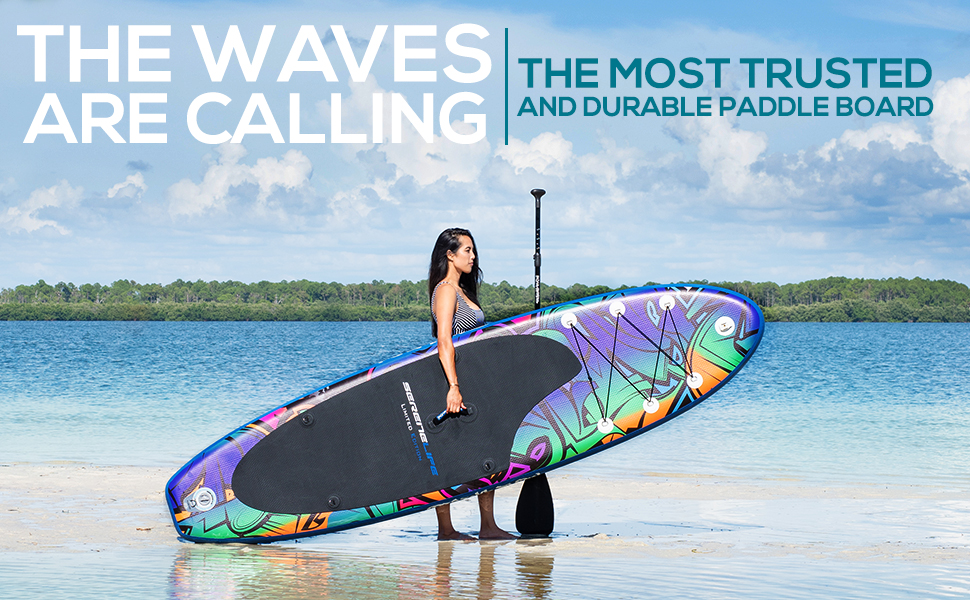 nflatable Stand Up Paddle Board;Premium SUP Accessories;Carry Bag;Youth & Adult Standing Boat;board