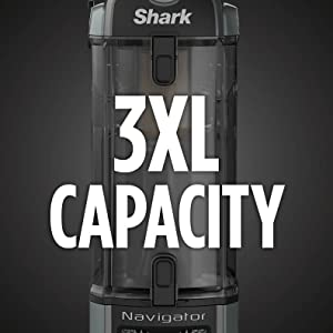 Shark, Navigator, ZU62, 3XL Capacity