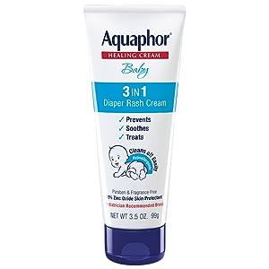 Aquaphor baby 3 in 1 diaper rash cream