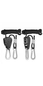 Heavy Duty Rope Clip Hanger