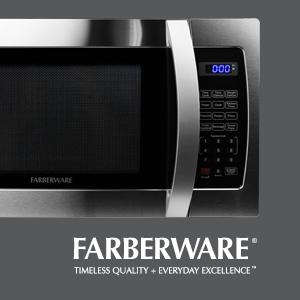 Farberware Professional, stainless steel, 1000 watt, microwave, best microwave oven, convection