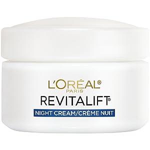 Face Moisturizer, Moisturizer for face, anti-aging face moisturizer, night cream, L'Oreal Skincare